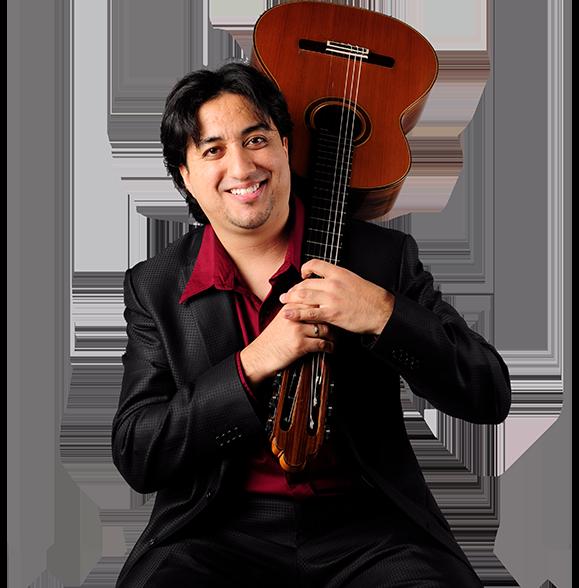 Guitarrista Juan Ramón Arceo